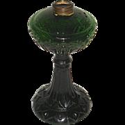 Green Kerosene Lamp Advertising Vacuum Oil Company aka Socony Mobil