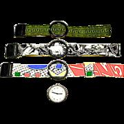 Vintage Swatch Designer Signed POP Watch
