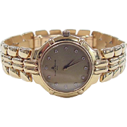 REDUCED Beautiful 18k Gold Baume & Mercier Geneve Watch