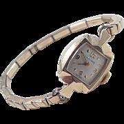 SOLD Vintage 14k Gold Longines Watch ~ Gold Filled Strap