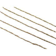 """SALE Vintage 14k Gold Twisted Wheat Link Chain ~ 21"""" ~ 2.2 Grams"""