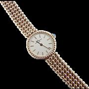 SALE PENDING Vintage 14k Gold Baume & Mercier Ladies Watch