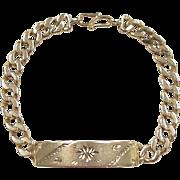 """REDUCED Vintage 18k Gold Bracelet ~ 7"""""""