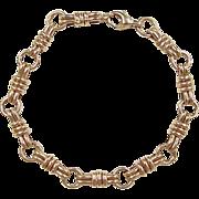 """REDUCED Vintage 14k Gold Bracelet ~ 7"""""""