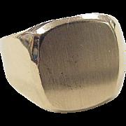 REDUCED Vintage 14k Gold Signet Ring