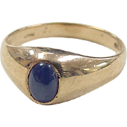 REDUCED Vintage 14k Gold Star Sapphire Ring