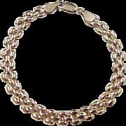 """REDUCED Vintage 14k Gold Bracelet ~ 7 1/4"""""""