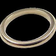 REDUCED Vintage 14k Gold Band Ring