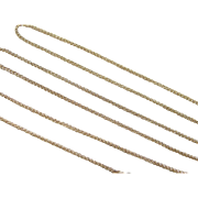 """SOLD Vintage 14k Gold Square Wheat Chain 18"""" ~ 2.2 Grams"""