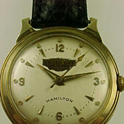 SALE Vintage Hamilton 736 14k Gold Wrist Watch