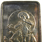 """SOLD Vintage Collectible Silver Bar - Norman Rockwell - """"Springtime"""" - 0.999 Fine Bu"""