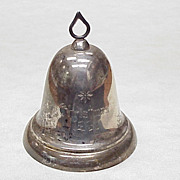 Reed & Barton Sterling Silver Christmas Bell 1987