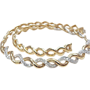 REDUCED Diamond necklace 2.16 CTW 14k Gold ~ 49.1 Grams