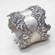 Art Nouveau Napkin Ring Sterling Silver