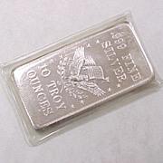 Fine SILVER Bullion Bar 10 ozt .999 Pioneer