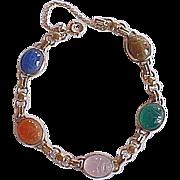 REDUCED Vintage 14k Gold SCARAB Bracelet ~ Egyptian Revival