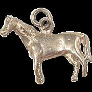 Vintage 14k Gold Horse Charm