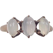 Victorian 10k Gold Moonstone Ring
