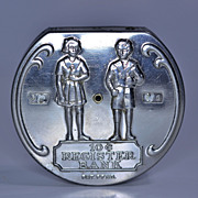 Boy Scout and Girl Scout Dime Register Bank