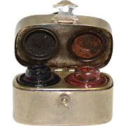 Double Traveling Inkwell – Lunch Box Shape