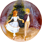 """""""Clara And The Prince"""" Fine China Collector's Plate by Viletta 1980 Series"""