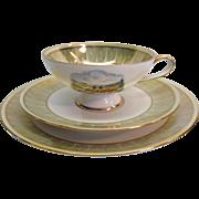 Trio Set Teacup, Saucer, and Dessert Plate by Rudolf Watcher