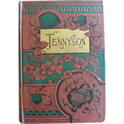 SOLD Tennyson's Poems Complete Edition Illustrated Belford; Co. 1885