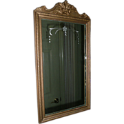 REDUCED Wood Framed Mirror By Central Circa 1929