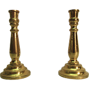 Miniature Dollhouse Brass Candlestick Holders