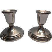 Vintage Towle Sterling Silver Candlestick Holders