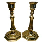 REDUCED Brass Candlestick Holders by Valsan of Portugal