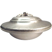 Aluminum Covered Casserole Dish With Pyrex Insert By SilverLook