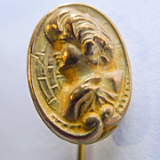 Stick Pin - Antique Gold Filled Art Nouveau - Circa 1900