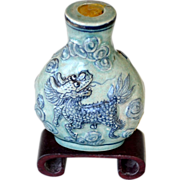 Chinese Snuff Bottle Marked.