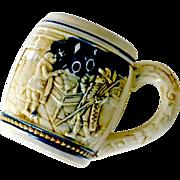 Pottery Stoneware Beer Stein Mug