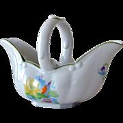 SALE Gravy Boat Basket Seymour Mann Water Lily
