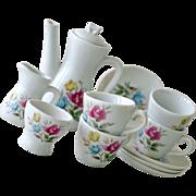SALE Childs Tea Set Japan Porcelain with Rose Pattern