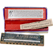 SALE Harmonica No. 1896 Marine Band M. Hohner Germany
