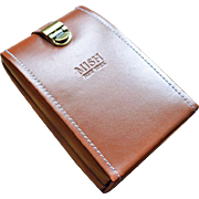 Mish Leather Traveling Jewelry Box  Highest End