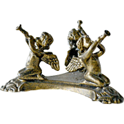 Cherubs or Angels with Trumpets Brass