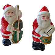 SALE Santa Claus Salt and Pepper Shakers Vintage Japan