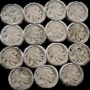 SOLD Buffalo Indian Head Nickels