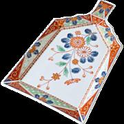 Porcelain Crumb Tray Oriental Mark