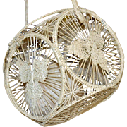 Cord Holder or Basket Ball of Thread