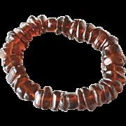 Polished Baltic Amber Bracelet