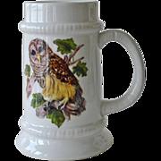Goebel Oversized Tankard Barred Owl