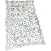 Crochet Tablecloth or Runner Pinwheel Pattern