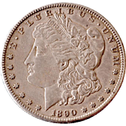 Morgan Silver Dollar 1890S