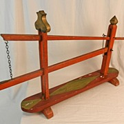 19th Century Model of a Wagon Jack