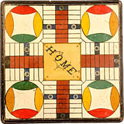 SOLD Early Parcheesi Game Board